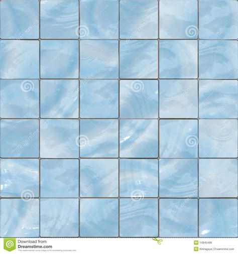 blue glass tiles seamless texture stock illustration
