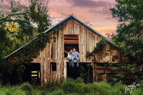 rustic barns rustic barn engagement in houston haley andrew