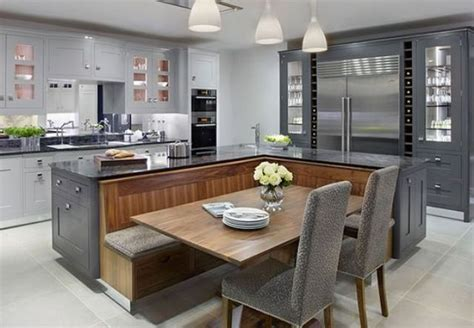 20 beautiful kitchen islands with seating long kitchen 20 beautiful kitchen islands with seating