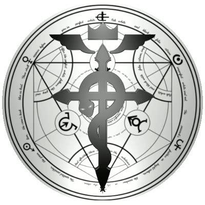 Kaos Fullmetal Alchemist Logo 1 deiby vargas