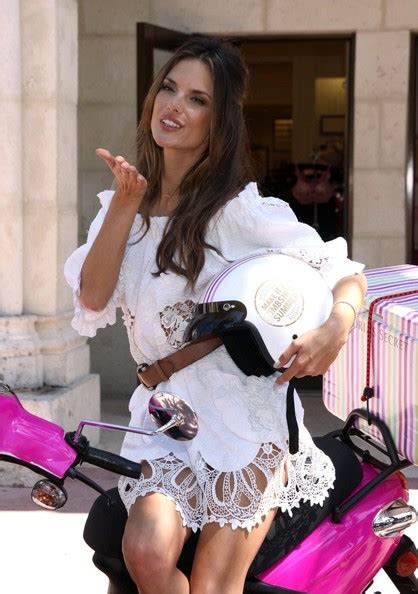 Alessandra Ambrosio Promotes Something Or Another by Alessandra Ambrosio Photos Photos Alessandra Ambrosio