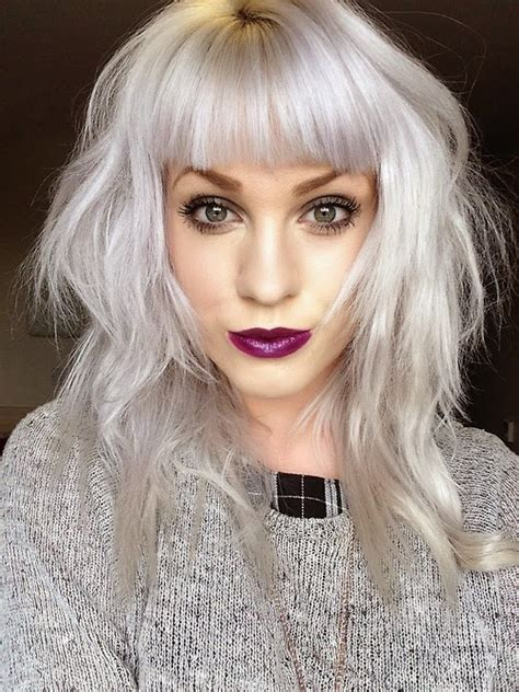 silver blonde color hair toner lune doll how to get white hair updated makeup