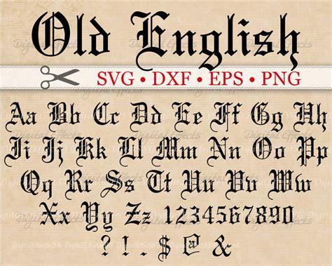 eps format fonts old english monogram svg font gothic letters svg dxf