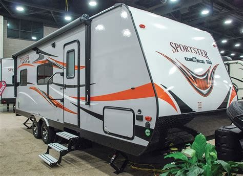kz rv travel trailers fifth wheels toy haulers 2017 sportster 100 210th lightweight travel trailer toy