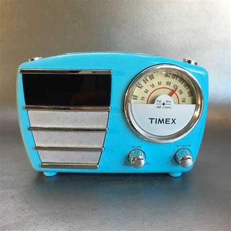 l radio alarm clock timex retro alarm clock radio