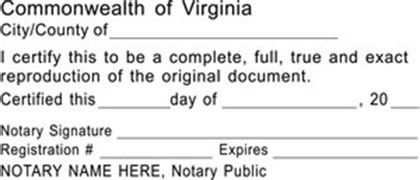virginia notary seal notary stamp notary supplies