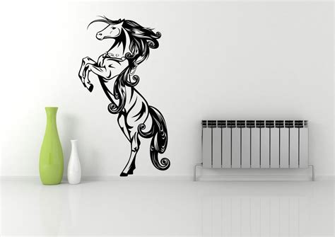 printable vinyl for walls wild horse standing galloping wall art sticker decal mural