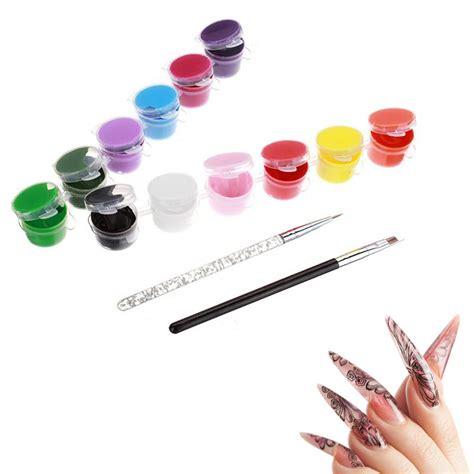 tutorial nail art colori acrilici colori acrilici per nail art cosa sono laura nail art