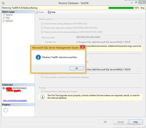 tutorialspoint sql ms sql server restoring databases