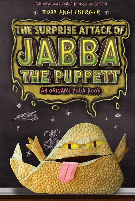 Tom Angleberger Origami Yoda Series - book review ftn reviews the attack of jabba the