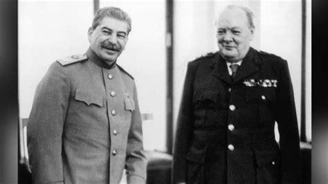 joseph stalin iron curtain winston churchill prime minister journalist biography com