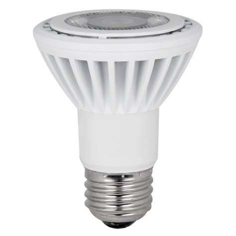 Led Light Bulbs Lowes Shop Utilitech 50w Equivalent Dimmable Warm White Par20 Led Spot Light Bulb At Lowes
