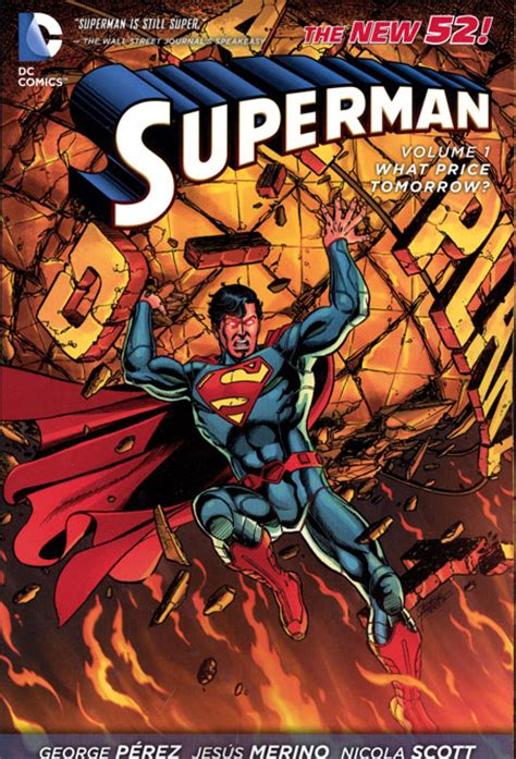 supermantp vol 1 superman tp vol 01 what price tomorrow n52 discount comic book service