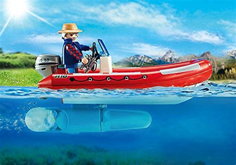 playmobil raft by one fish playmobil boat with explorers for 15 25