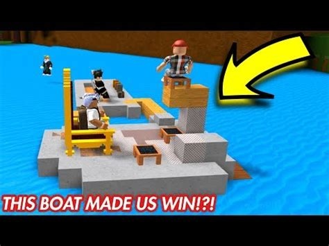 how to build a boat in fortnite how to build the best boat for treasure roblox doovi