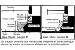 creuser le sous sol pour agrandir la cave ou le vide sanitaire