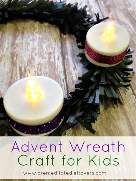wreath craft for 20 amazingly simple catholic advent crafts for