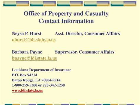 home information department ppt louisiana department of insurance 2008 forms and