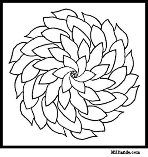 printable coloring pages of pretty flowers spring flower coloring pages collections 2010