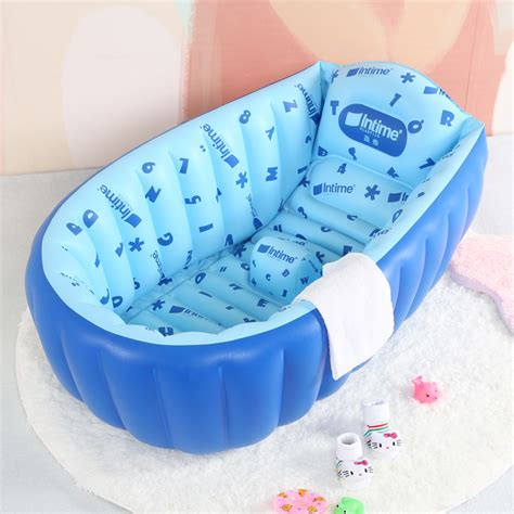 infant inflatable bathtub baby inflatable bathtub baby bathtub large child bath