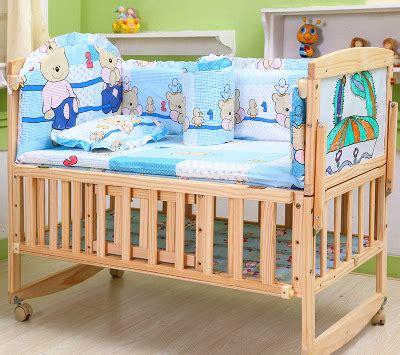 No Crib For Baby Aliexpress Buy Multifunctional No Paint Pine Wood Baby Bed Newborn Baby Crib Baby Playpen
