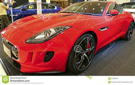 Car Seat Types Uk by Jaguar F Type Editorial Stock Photo Image 61996068
