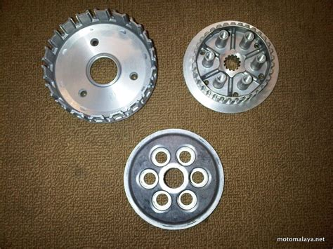 Sparepart Yamaha Jupiter Z 115 manual clutch kit lagenda 115z jupiter z115 8 motomalaya