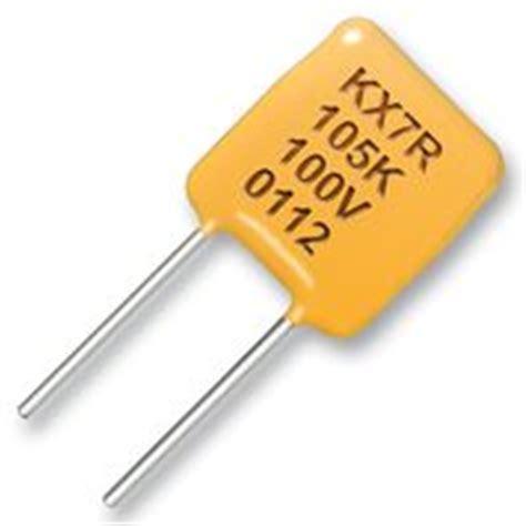 x7r capacitor kemet c330c105k5r5ta kemet cap mlcc x7r 1uf 50v rad element14 korea