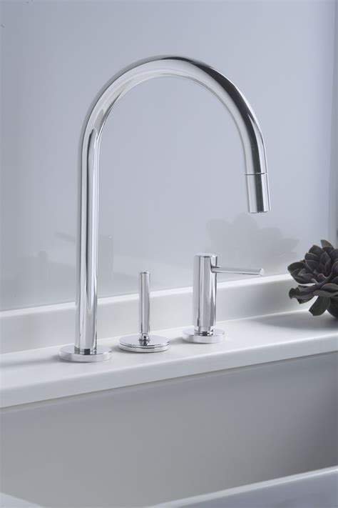 kitchen faucet one kallista one pull kitchen faucet faucets