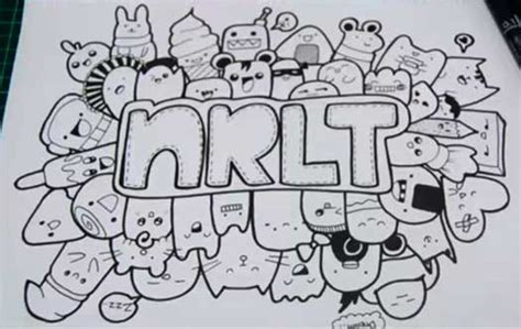doodle lucu simple 20 contoh gambar doodle simple mudah di tiru grafis