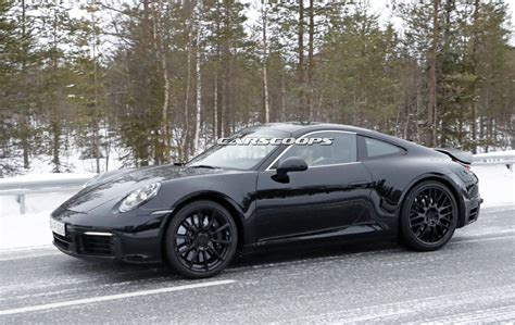 2019 new porsche 911 2019 porsche 911 reveals its form but keeps its secrets