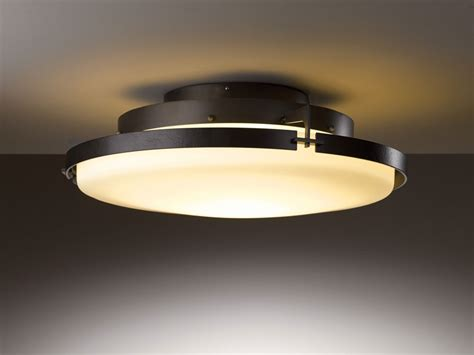 cieling light fixtures hubbardton forge 126747d metra 24 3 quot wide led ceiling