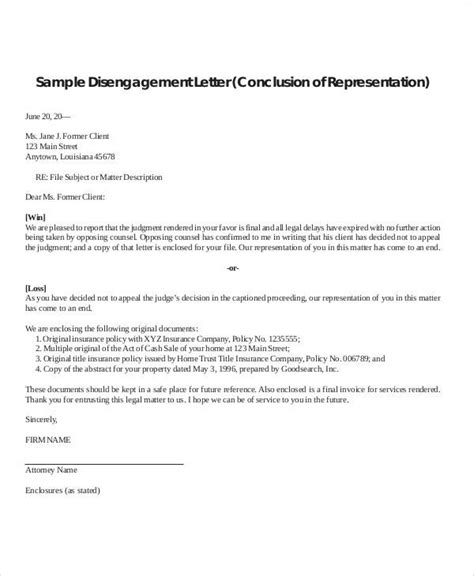Client Termination Letter by 37 Sle Termination Letters
