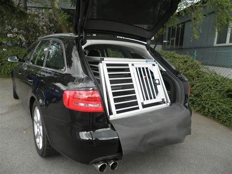 Hundebox F R Audi A4 Avant by Hundebox Einzelbox F 252 R Audi A4 Avant B8 Sonderbau 276