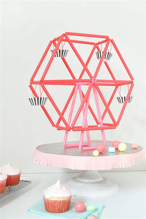 How To Make A Paper Ferris Wheel - mini ferris wheel