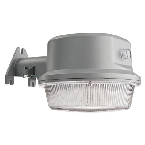 lithonia lighting gray outdoor integrated led 4000k area