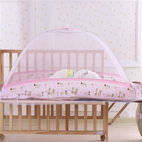 Baby Crib Tent Cover Cot Mosquito Net Folding Cover For 6 To 8 Years Moski Net