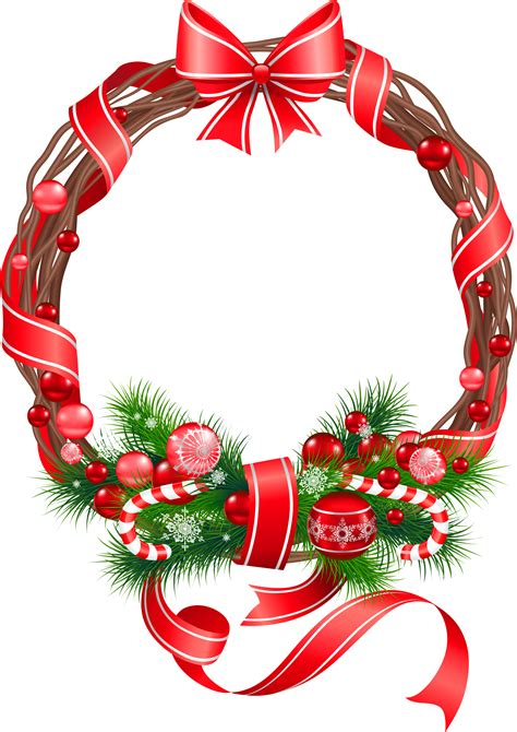 images for gt christmas wreaths with lights png cliparts co