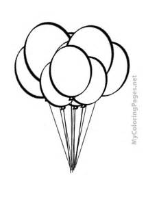 balloon coloring page free coloring pages of balloons