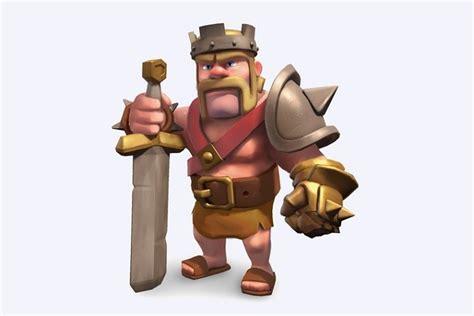 Kaos Clash Of Clans 29 Barbarian King آموزش clash of clans بربرین کینگ barbarian king زومیت
