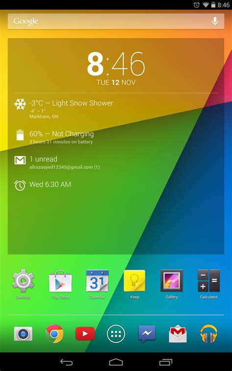 Nexus 7 2012 2013 And Nexus 10 Android 4 4 Kitkat Updates Roll Out Starting Today Nexus 4