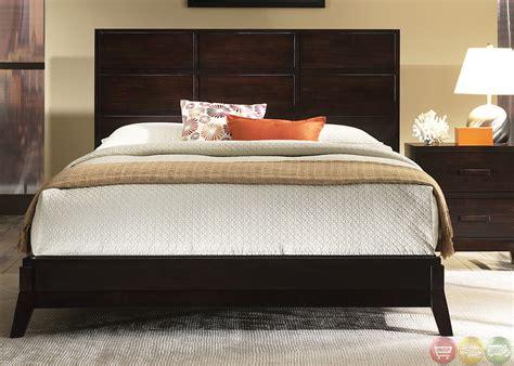 merlot bedroom set franklin minimalist contemporary merlot finish bedroom set