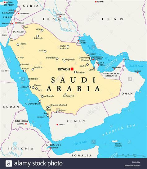 arabia map saudi arabia political map with capital riyadh national