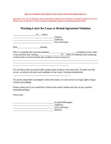Termination Letter Format For Negligence landlord lease termination letter sle early lease