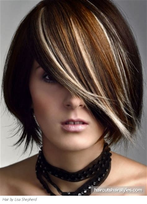 medium hair color medium hair highlights idea