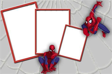 imagenes png hombre araña marcos y bordes para fotografias marco para fotos y