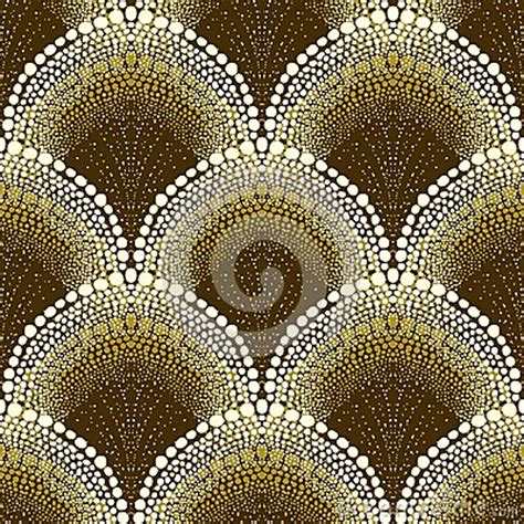 dotted geometric pattern  art deco style stock photo