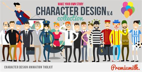 Videohive Character Design Animation Toolkit Free Download Free After Effects Template After Effects Animation Templates Free