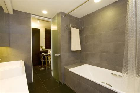 modern hotel bathroom healthy garden feel like a stylish hotel suite modern