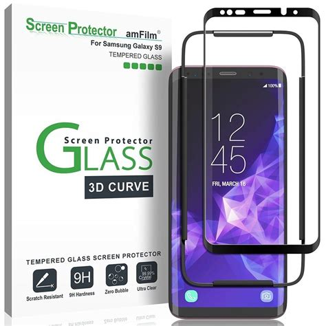 Samsung S9 Limited Cover Anti Gores Screen Protector best screen protectors for samsung galaxy s9 android central